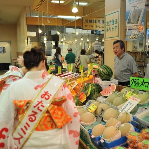 2011.7.23 第45回 おたる潮まつり 小樽市内激励キャラバン