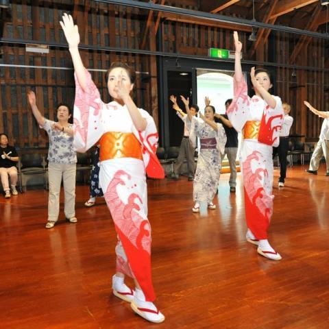 2014.7.7  第2回 踊りお稽古会