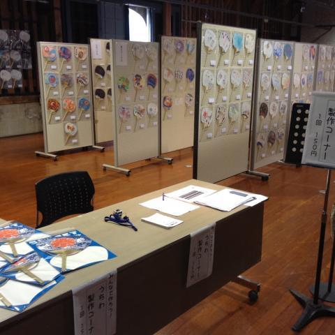 2015年7月24-26日 うちわコンテスト展示