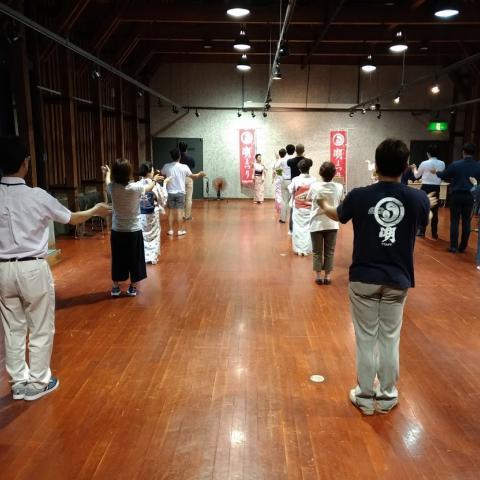公開踊り練習(1回目)