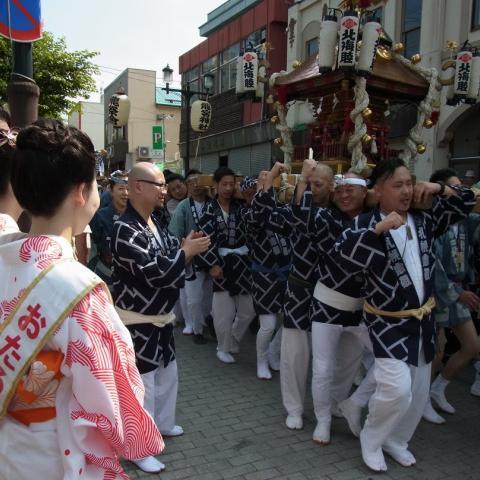 2017.7.30 神輿パレード